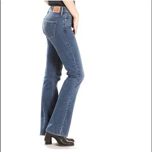 Levi's Slimming Bootcut Jeans Size 34 x 30 NWT